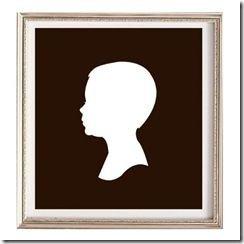 child silhouette