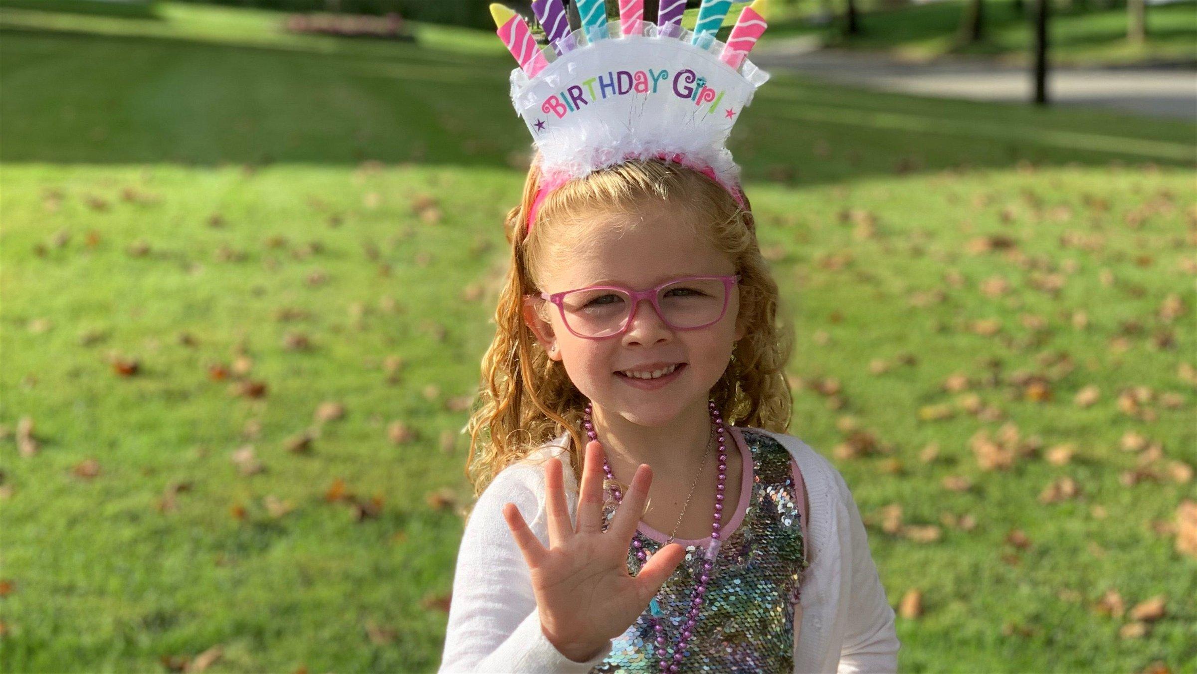 Dear Tessa: 5 Years Old